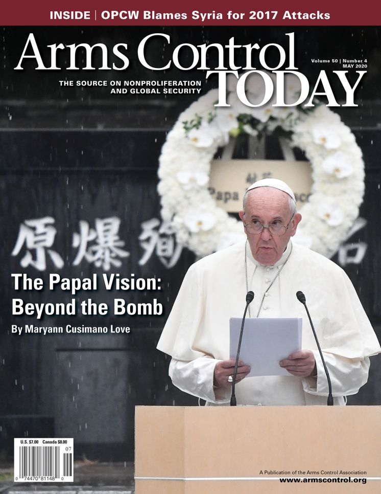 Arms Control Today, News in Brief, May 2020
