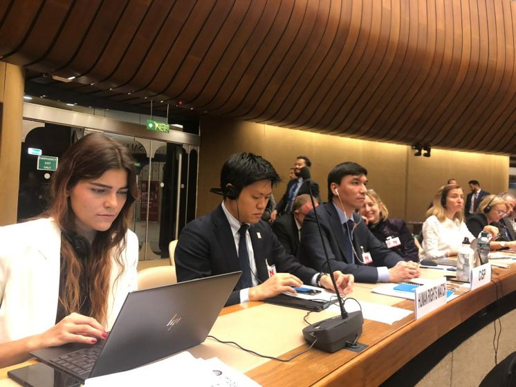 Participation in the annual meeting of the Convention on Conventional Weapons
